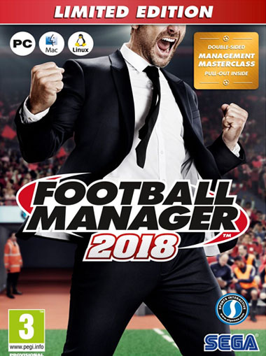 Football Manager 2018 Limited Edition [EU] cd key