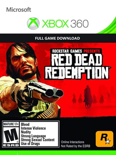 Red Dead Redemption - Xbox 360/Xbox One (Digital Code) - Xbox Live