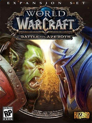 World Of Warcraft: Battle For Azeroth + 110 Level Boost (EU) - Battle net