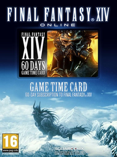 Final Fantasy XIV: 60 Days time card (EU) - Download