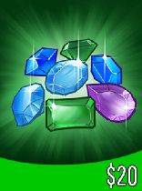 Buy Gems gift card 20 USD Game Download