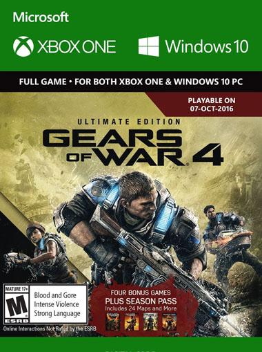 Comprar Gears of War 4 Ultimate Edition - Xbox One/Windows 10