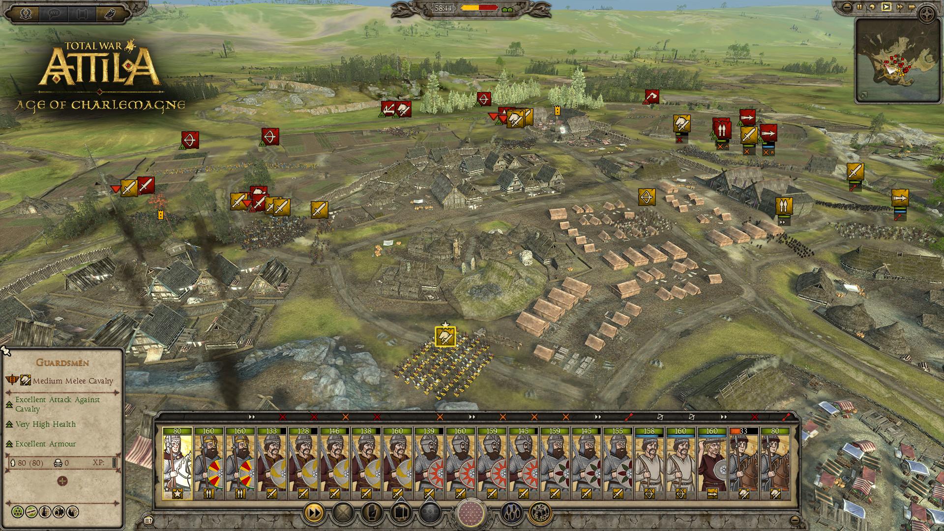 total war attila crack only