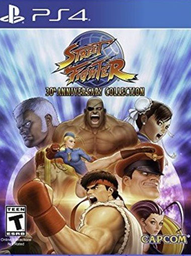 Street Fighter 30th Anniversary Collection - PS4 (Digital Code) cd key