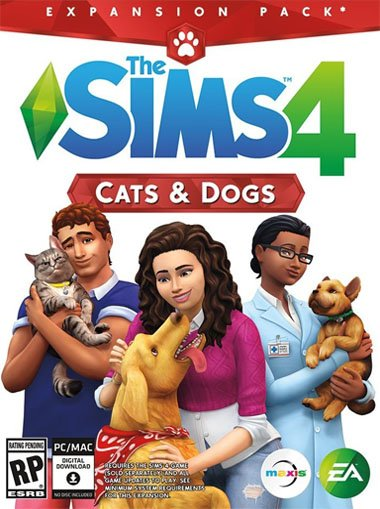 The Sims 4 Cats and Dogs cd key